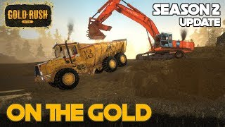 ON THE GOLD | LEVELING OUT THE CLAIM | GOLD RUSH THE GAME