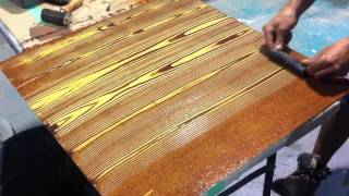 Faux Oak Wood Grain Creative Painting Techniques