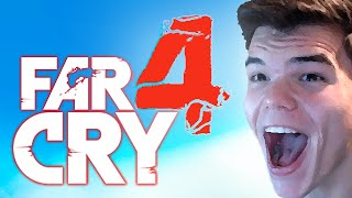 CRAZY TIGER JUMP SCARES! (Far Cry 4 Funny Moments)