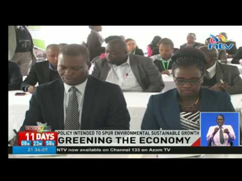 Kenya launches the green economy strategy and implementation plan
