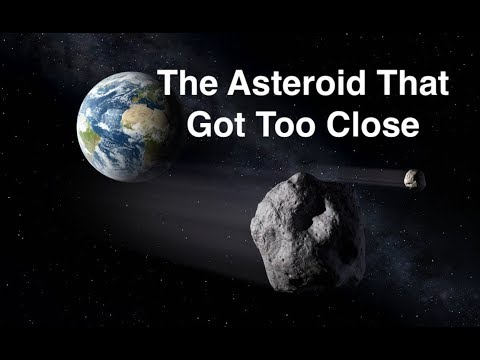 An Asteroid That Got a Bit Too Close To Earth