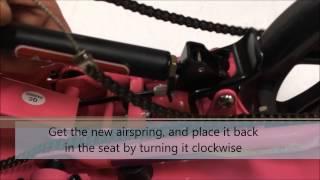 Видео обзоры Space Scooter X580 розовый