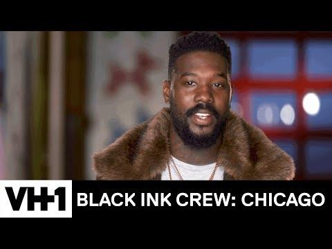 Phor's Client Isn't Happy w/ Her Face Tattoo 'Sneak Peek'   Black Ink Crew: Chicago