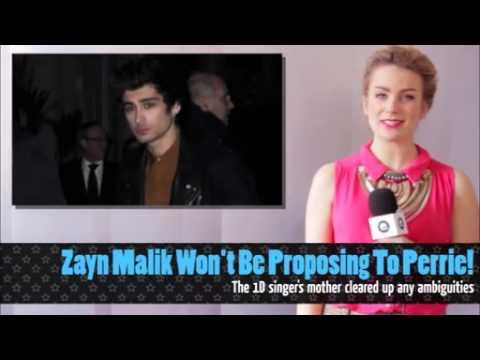 Zayn Malik Wont Be Proposing To Perrie Edwards Youtube