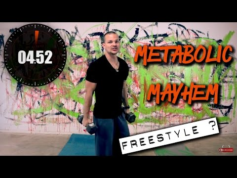 Wednesday Freestyle Formula…home workout
