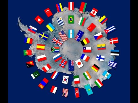 Flat Earth: The Antarctic Treaty