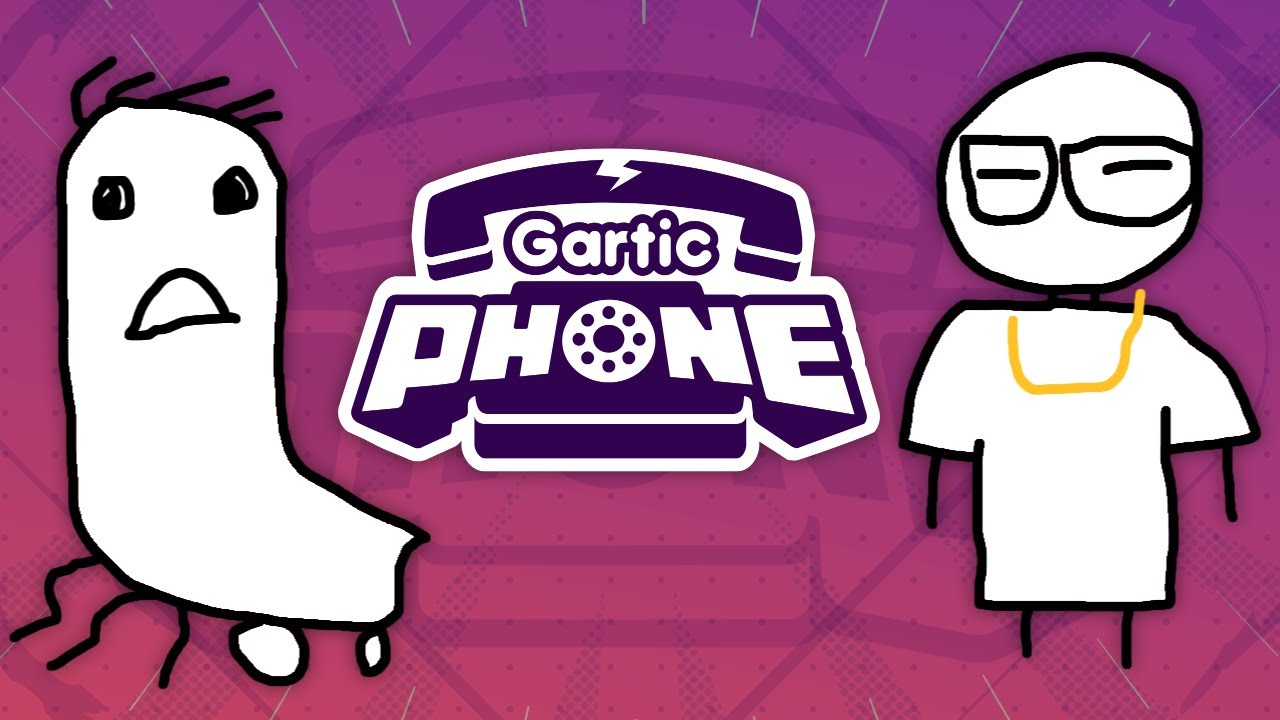 We Can't Stop Laughing! - Gartic Phone