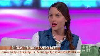 Vicces! Így becézte Puskás Petit a párja - tv2.hu/mokka