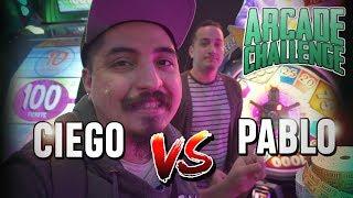 CIEGO VS PABLO Ticket Challenge en el ARCADE