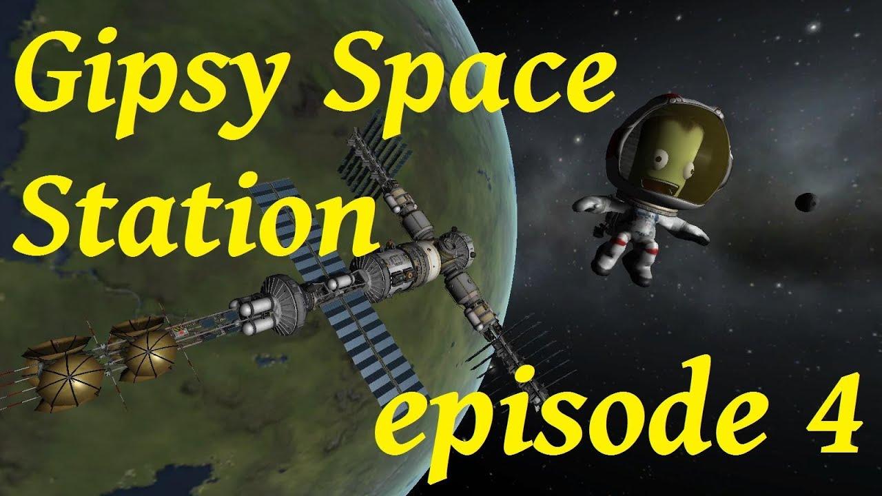 KSP : GipsyDanger Space Station module de panneaux solaire supplémentaire