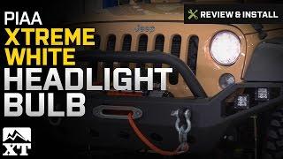 Jeep Wrangler PIAA Xtreme White Headlight Bulb (2007-2017 JK) Review & Install