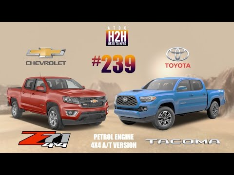 NEW H2H #239 Chevrolet COLORADO Z71 Vs Toyota TACOMA