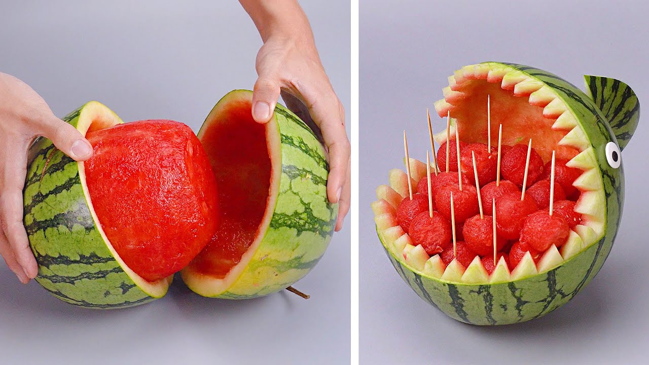 Amazing Watermelon Hacks Videos You Need To Try | So Yummy Dessert Recipes For Fresh Summer