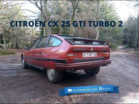 Citroën CX GTi Turbo 2- www.documentosdelmotor.com
