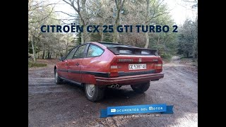 Citroën CX GTi Turbo 2- www.documentosdelmotor.com