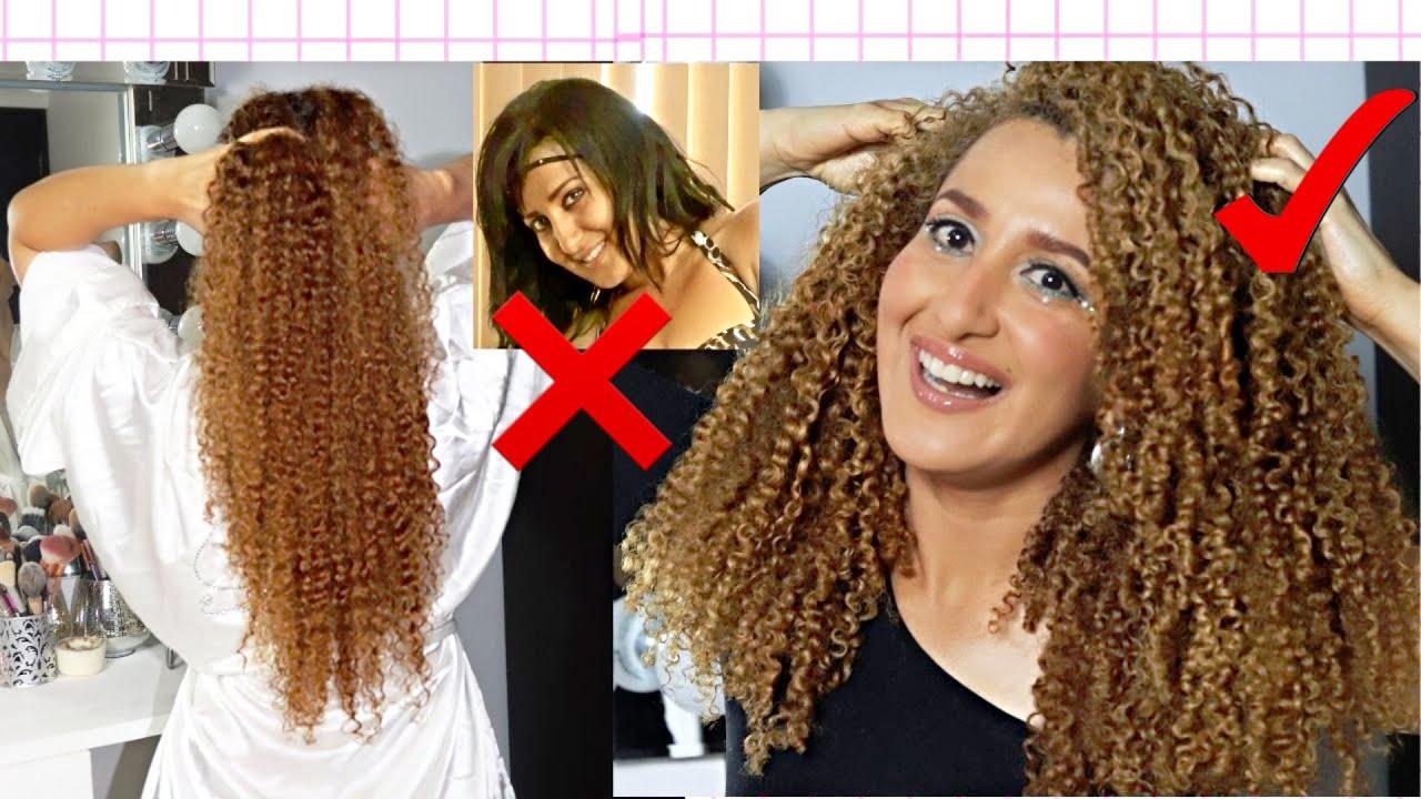 CABELLO Y RIZOS CHICLOSOS😭RECUPERA TU PELO RIZADO EN 3 PASOS😍 How to Fix Hair Damage🔥