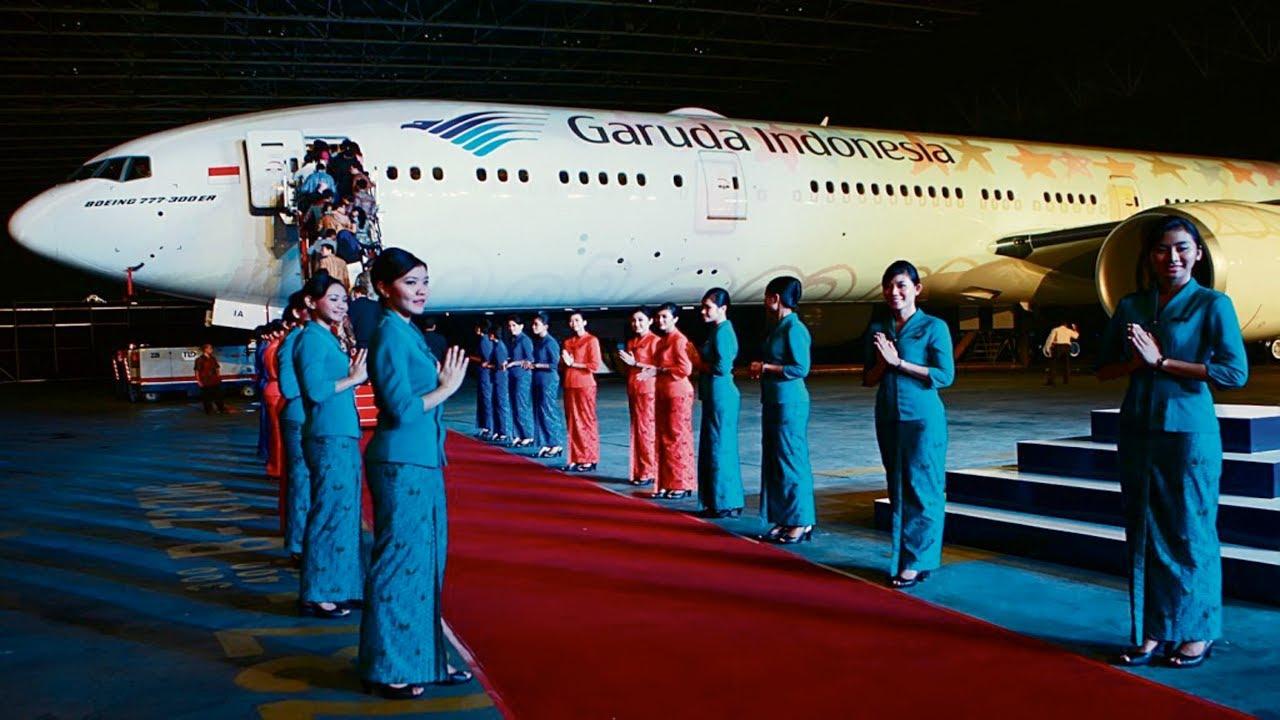 Garuda Indonesia, maskapai bintang 5 versi Skytrax