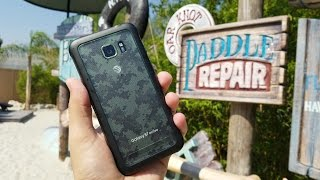 Galaxy S7 Active: Water Park Torture Test