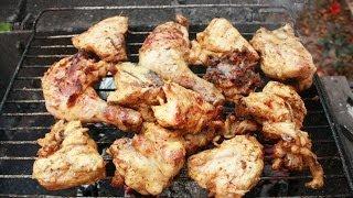 Курица гриль рецепт приготовления Курица карри на барбекю Курка гриль Кури гриль барбекю в Греции
