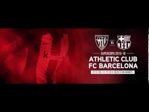 athletic bilbao vs barcelona live 14/08/2015 HD