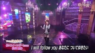 松田聖子さんの名曲「赤いスイートピー」をモーニング娘。の田中れいな...