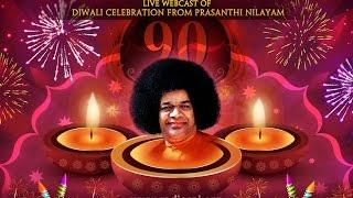 Diwali and Gujarati New Year Celebrations at Prasanthi Nilayam - 11 Nov 2015