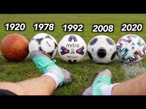 Download Testing 100 Years of Footballs - What's the difference?
