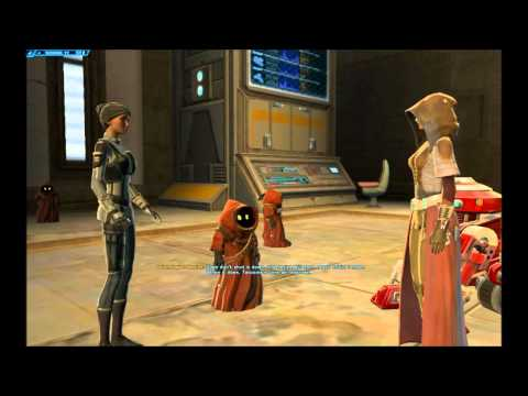 SWtOR Jedi Knight Story Cutscenes Pt. 11 [Chapter 1 / Tatooine /   Light Side]