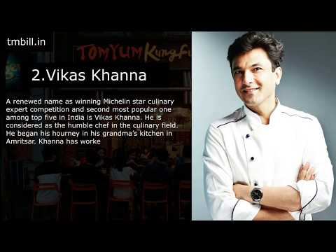 top-5-chefs-in-india- -most-famous-and-successful- -tmbill-technology-for-restaurants