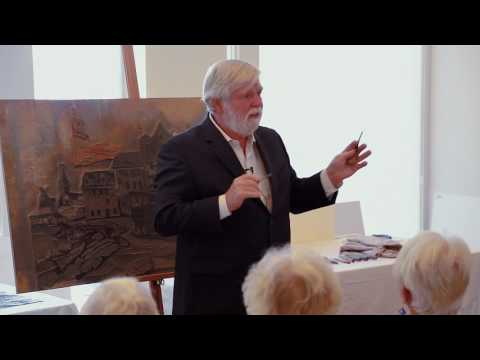 Don Gorvett at the Ogunquit Museum of American Art