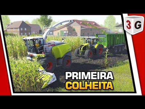CATTLE AND CROPS - NOSSA PRIMEIRA COLHEITA COM CLASS JAGUAR 960