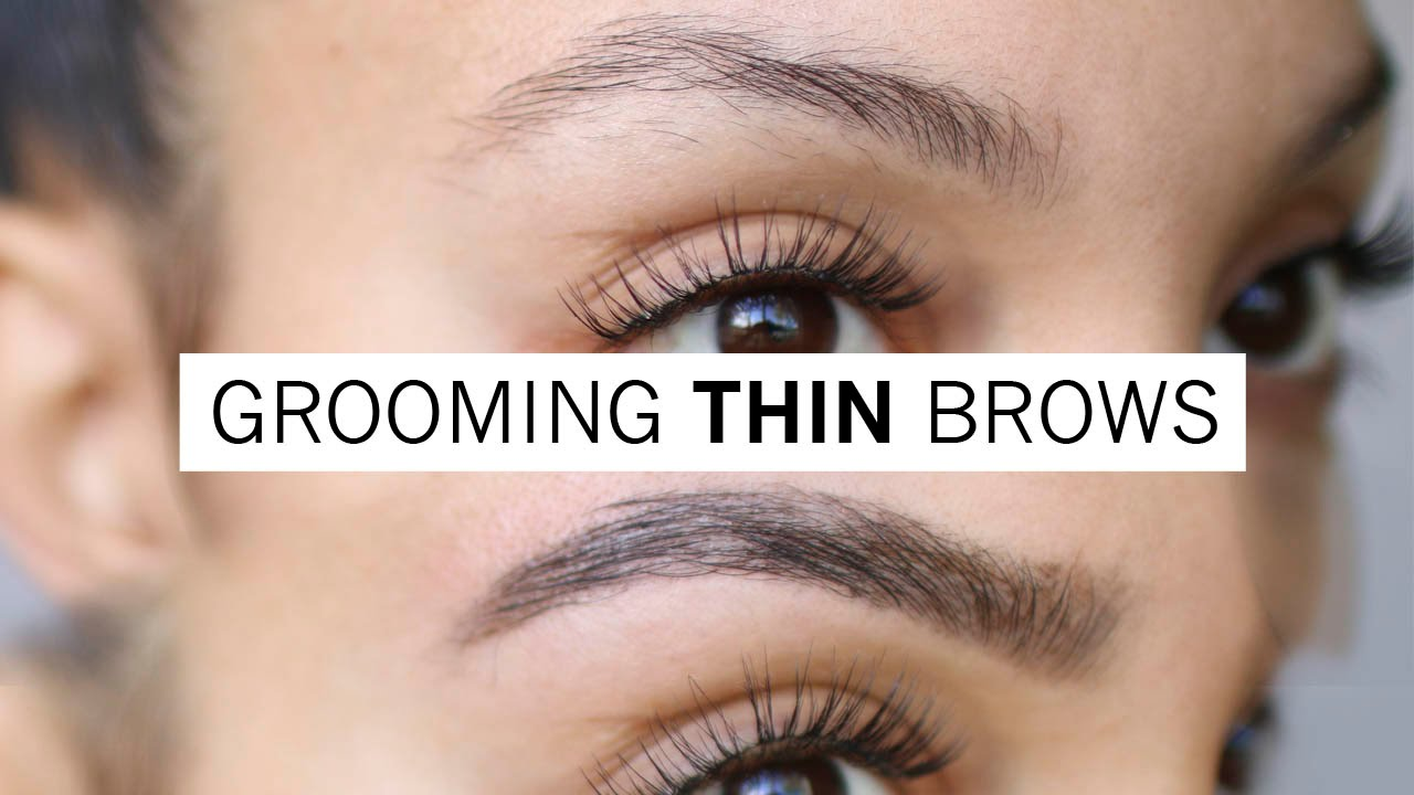 How To Groom Your Brows At Home Waxing Tinting Youtube