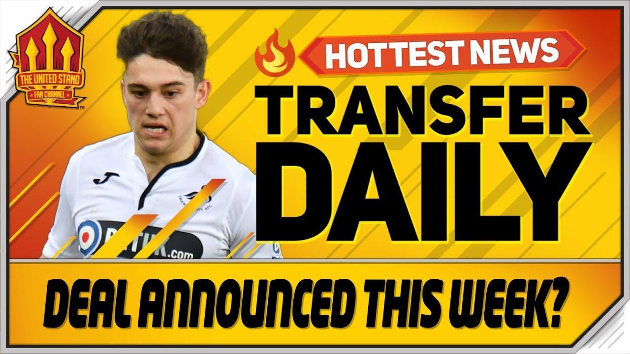 Daniel James Transfer Announced This Week? Man Utd Transfer News