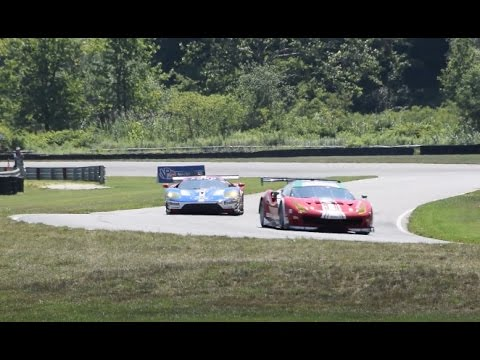 2016 IMSA WeatherTech Sportscar Championship - Lime Rock Park - Pure Sounds Around Track