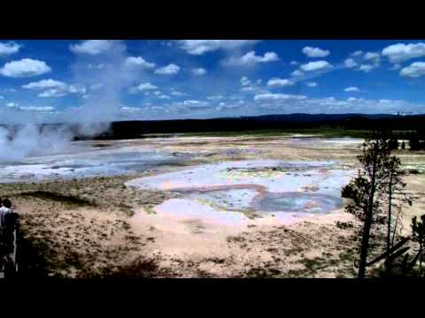 Yellowstone National Park Tourism -   Fountain Paint Pot and Old Faithful Geyser - YouTube