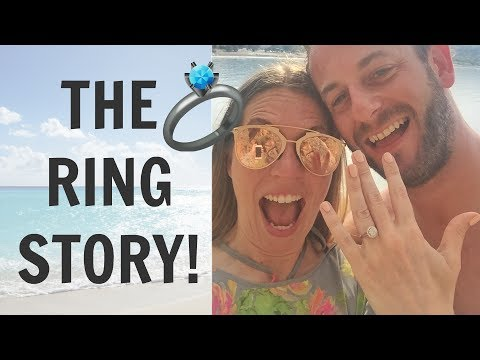 MY ENGAGEMENT RING STORY & WEDDING HAIR!