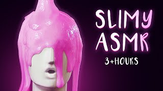 ASMR - Slimy. Sticky. Satisfying! Extremely Tingly Slime Triggers (3+ Hours)