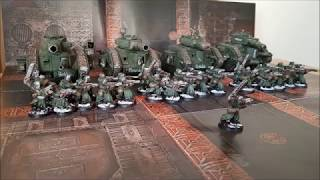 Rusted Claw: Power Armoured Guardsmen!? - Warhammer 40K 8th Edition