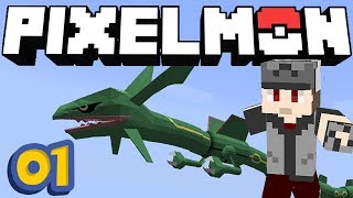 PIXELMON Minecraft #01 - Un RAYQUAZA !