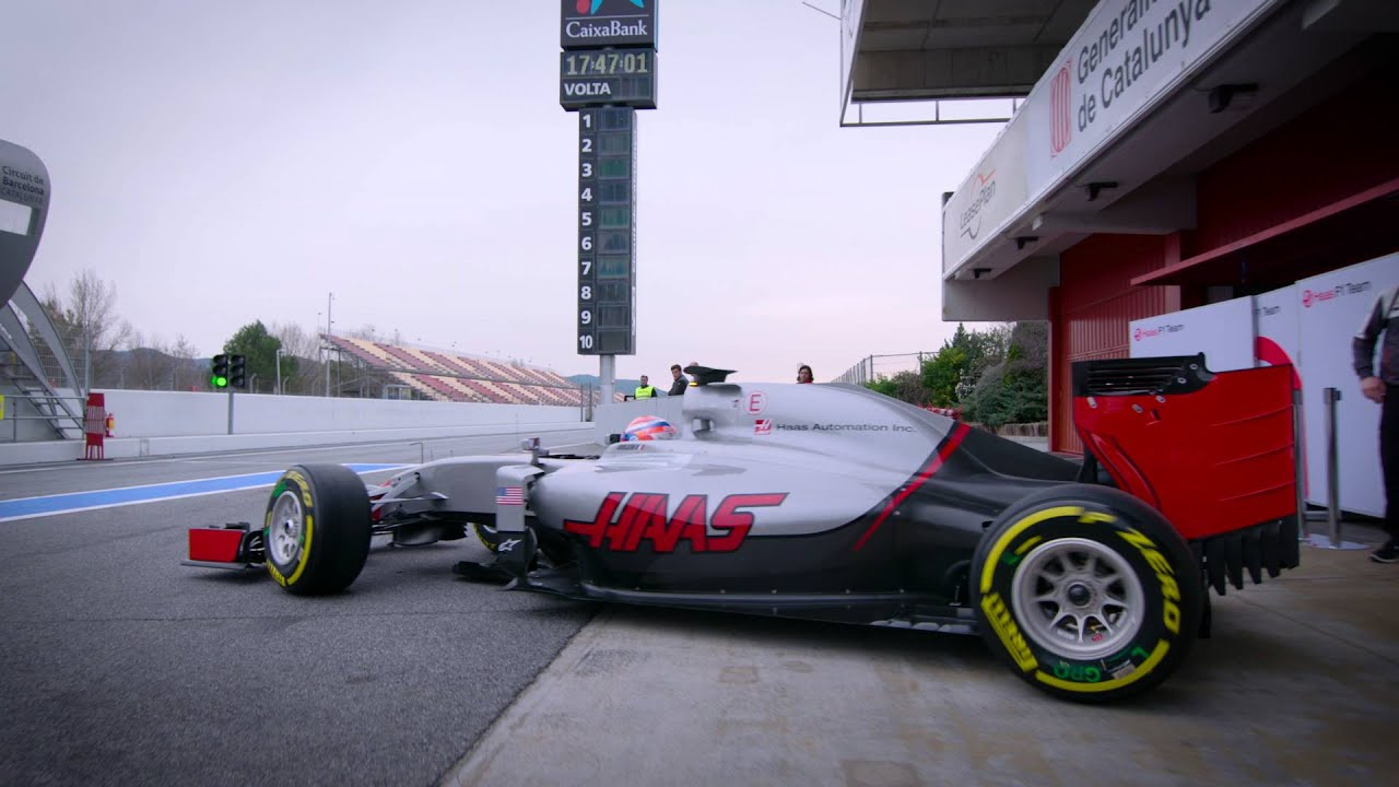 Haas f1 team makes its debut in 2016 fia formula one world
