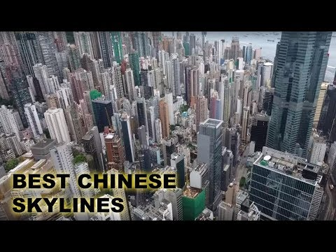 Top 10 Chinese Skylines 2019