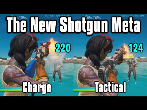 Charge Vs Tac Shotgun: Which Is Better? - Fortnite Season 3 Shotgun Guide!