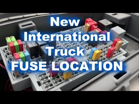 2020 international lt,rh,mv, truck (fuse location & lighter usb fuses) -  youtube  youtube
