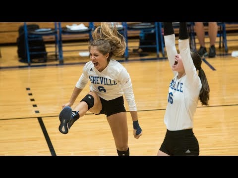 Volleyball || Asheville Defeats Presbyterian 3 sets to 1