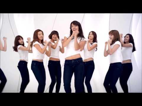 SNSD - Gee (Japanese Dance Video, Korean Vocals)