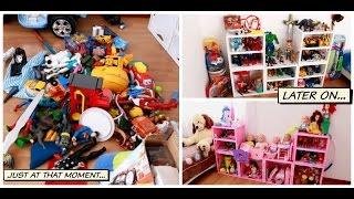 Como organizar los juguetes de tus hijos -  How to storage/organize Toys
