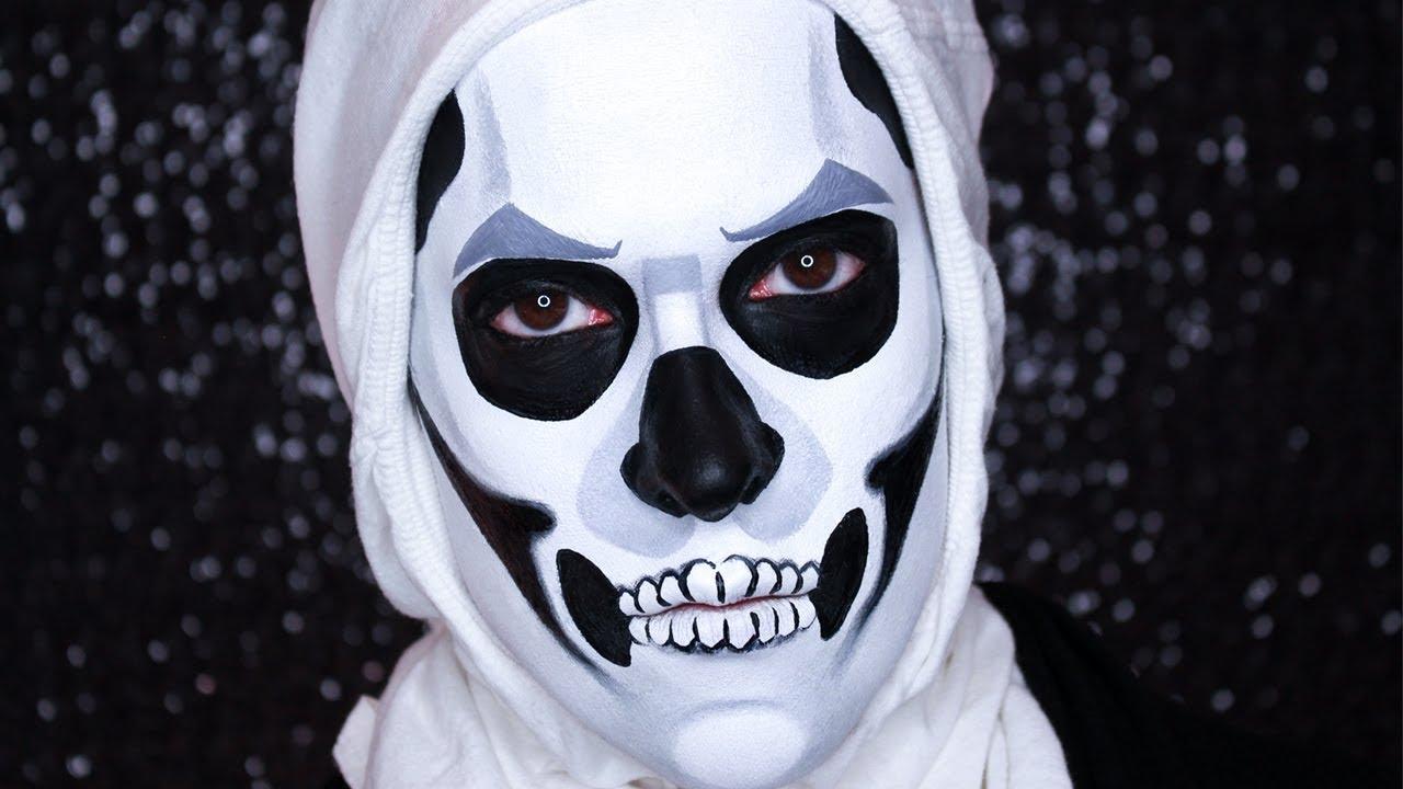 Fortnite Skull Trooper Day 8 Of 31 Days Of Pompween Youtube