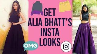 Get alia bhatt's instagram looks! | sejal kumar