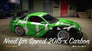 Need for Speed 2015 x Carbon