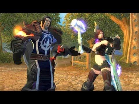 Warrior vs Paladin: The Musical! - Invisuisra (WoW Video)